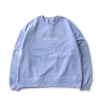 DAILY INNHotel Guest Only Heavy Weight Oversized Sweat(Serenity)