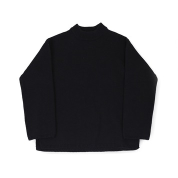 BALLUTEFisherman Crewneck Knit(Black)30% Off