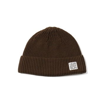 HORLISUNDearborn Knit Beanie(Dark Brown)