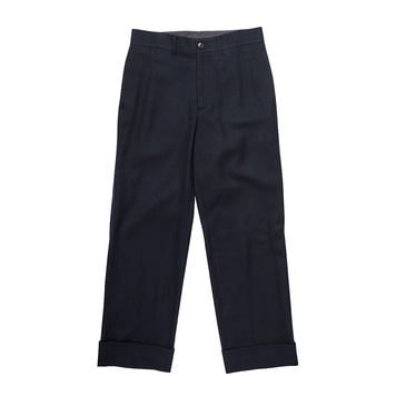 LIJNSMiles Trousers(Dark Navy)30% Off