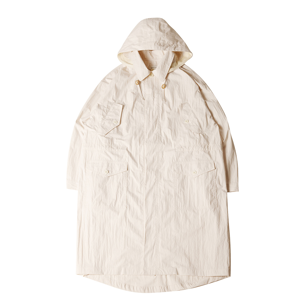 TOEUnisex Washed Field Jacket(Ivory)30% Off