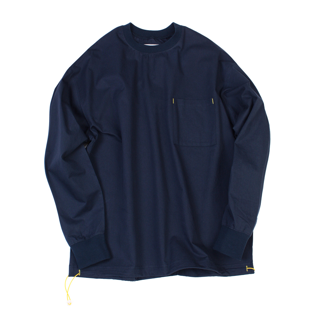 YOU NEED GARMENTSString Crewneck(Navy)