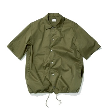 ESFAIHalf Sleeve Coach Shirt(Khaki)