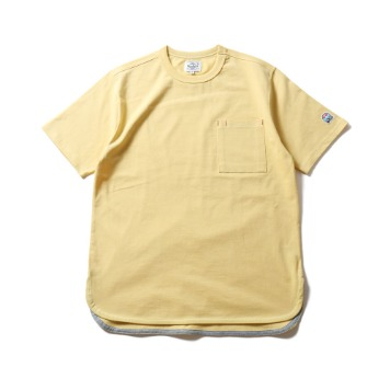 HORLISUNEmery Short Sleeve Pocket T(Yellow)