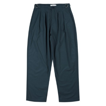 TOEUnisex Pintuck Pants(Dark Green)
