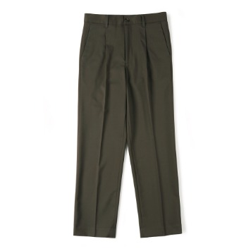 SHIRTERCinch-Back Loose Fit Pants(Dark Brown)