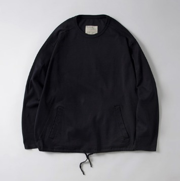 POTTERYKnit Sweat Shirt(Navy)