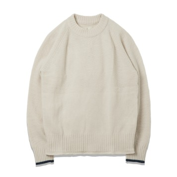ROUGH SIDEFisherman Knit(Ivory)