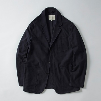 POTTERY* RESTOCK *Washed Sports JacketKAYANU Cotton Vintage Chino Cloth(Navy)