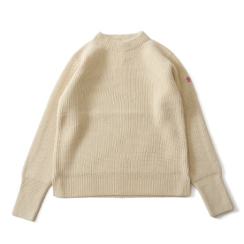 HORLISUNNorthyork Crewneck Slit Heavy Knit(Cream)