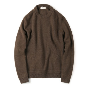 SHIRTERTASMANIA Wool Cashmere Knit(Brown)
