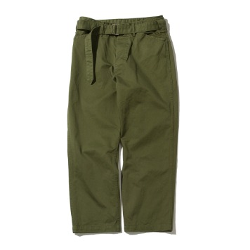 SOFTURBelted Fatigue Pants(Olive)