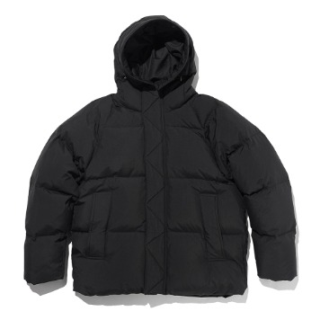 ESFAIfo919 Hooded Parka(Black)30% Off