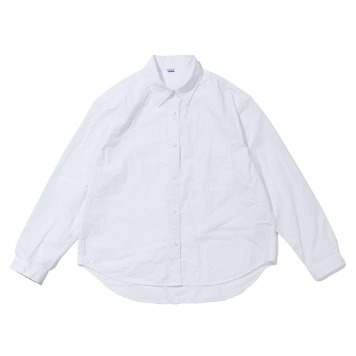 SOFTURWomen's Crop Wide Shirt(Whitel)