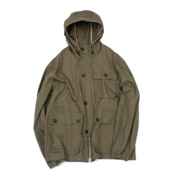 YOU NEED GARMENTSWading Twill Parka(Khaki)30% Off