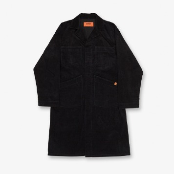 UNIVERSAL OVERALLCorduroy Shop Coat(Black)