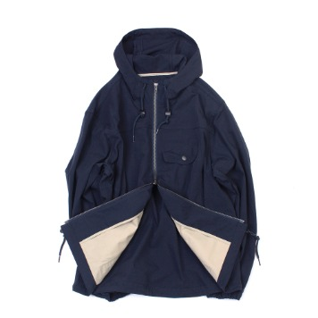 YOU NEED GARMENTSSlant Rip Stop Parka (Navy)