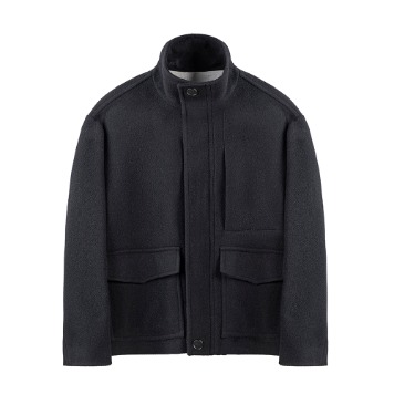 KEI CURRENTSan Coat(Black)30% Off