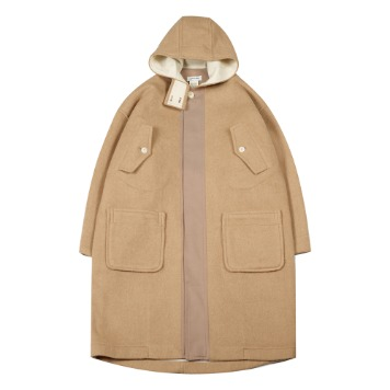 TOEHooded Wool Coat(Beige)