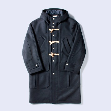 NAMER CLOTHINGMIX Pockt Duffle Coat(Navy)