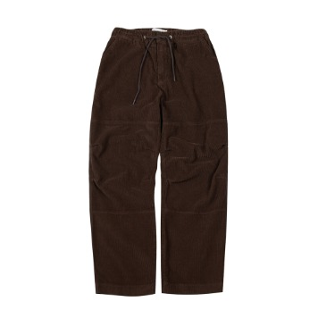 TOEUnisex Corduroy Easy Pants(Brown)