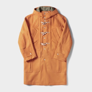 NAMER CLOTHINGMIX Pockt Duffle Coat(Orange)