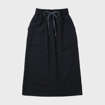 CHIQUITASweat Fatigue Skirt(Navy)