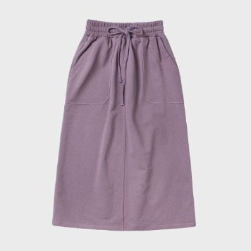 CHIQUITASweat Fatigue Skirt(Lavender)