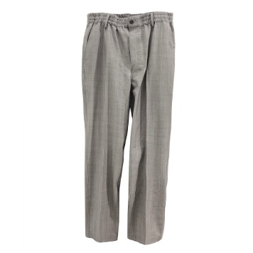 DOCUMENTWool Check Pants(Grey)