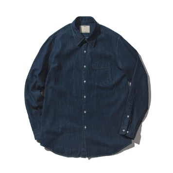 POTTERYDenim Shirts7oz Denim Cotton Enzyme Wash
