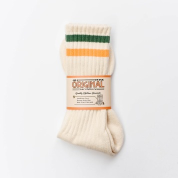 ALL TIME ORIGINALJFK Socks(Green/Yellow)