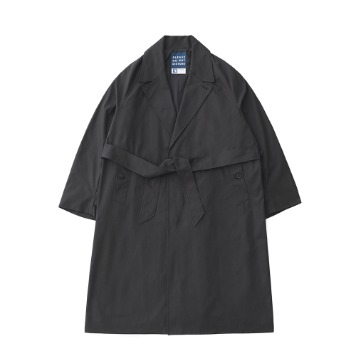 DAILY INNBell Man Uniform Oversized Coat(Charcoal)