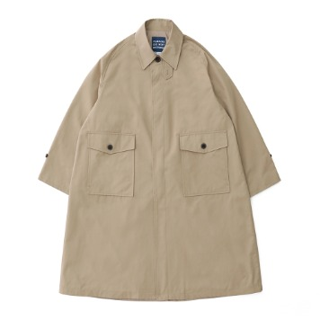DAILY INNRecepton Uniform Oversized Balmacaan Coat(Beige)
