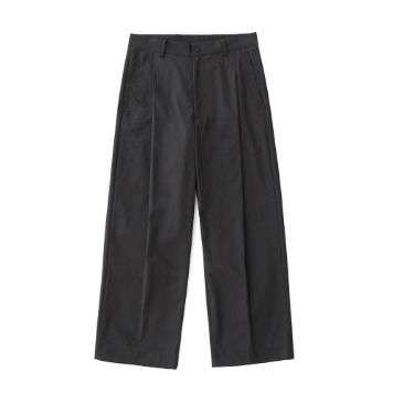 DAILY INNReception 2B Set-Up Wide Pants(Charcoal)