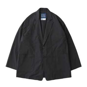 DAILY INNReception 2B Oversized Set Up Jacket(Charcoal)