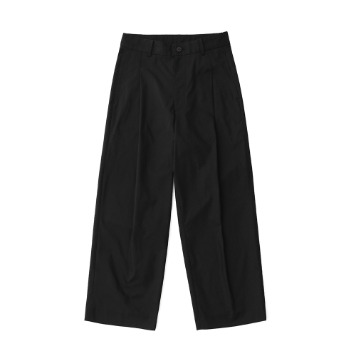 DAILY INNReception 2B Set-Up Wide Pants(Shadow Black)