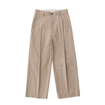 DAILY INNReception 2B Set-Up Wide Pants(Light Beige)