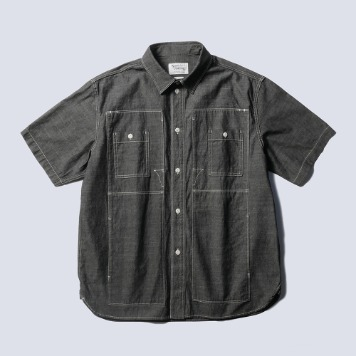 NAMER CLOTHINGUtility Shirts 1/2(Black)20% Off
