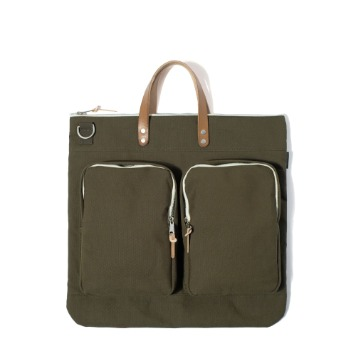 MAZI UNTITLEDHelmet Bag(Khaki)