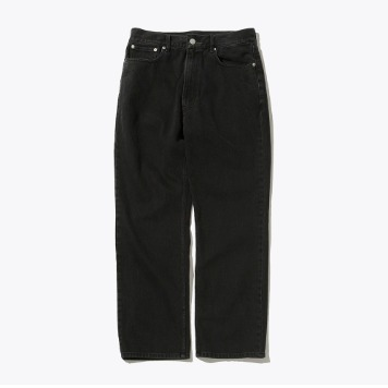 SOFTURRegular Denim Pants(Black)