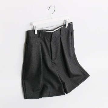 ATE STUDIONeat Wool Half Pants(Grey)