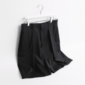 ATE STUDIONeat Wool Half Pants(Black)