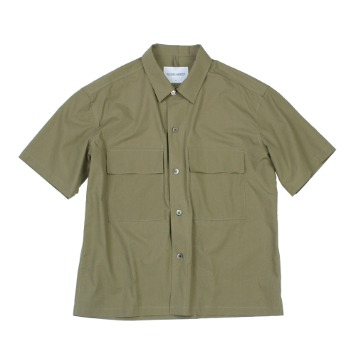 YOU NEED GARMENTSRegular 60's Shirt(Olive)