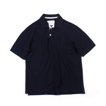 YOU NEED GARMENTSOversized French Terry Polo(Navy)