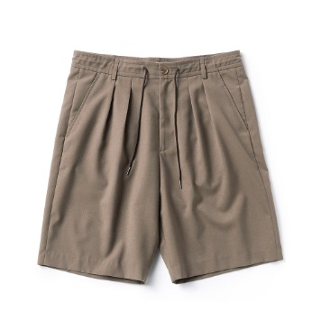 ESFAI2Tuck Wide Shorts(Beige)
