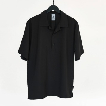 CHAMA SPORTS LAB.CSL Bowling Shirt(Black)