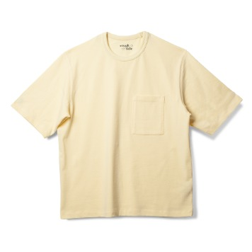 ROUGH SIDERoutine Crewneck(Pale Lemon)