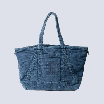 NAMER CLOTHINGPearl Weave Bag(Navy)