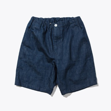 SOFTURBaggy Shorts(Indigo Blue)
