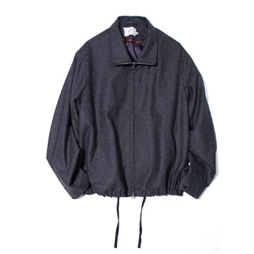 OUR SELVESFine Wool Realxed Blouson(Charcoal)30% OFF